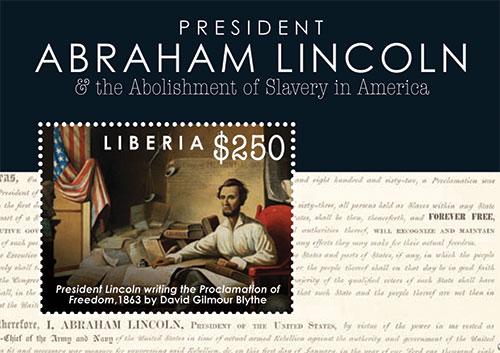 abraham lincoln abolishment of slavery through